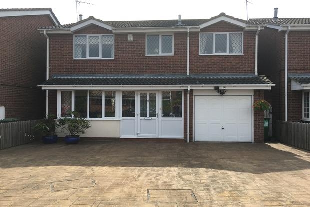 5 Bedrooms Detached House for sale in Herrick Close, Enderby, Leicester, LE19