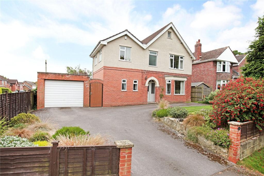 4 Bedrooms Detached House for sale in West Coker Road, Yeovil, Somerset