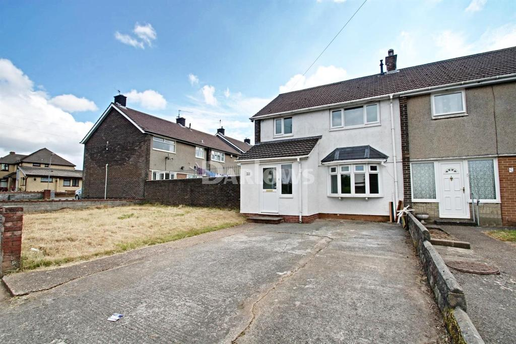 3 Bedrooms End Of Terrace House for sale in Countisbury Avenue, Llanrumney, Cardiff