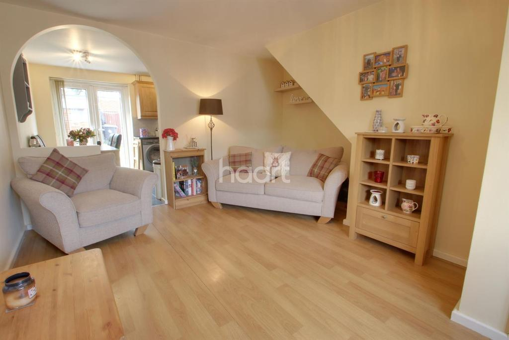 2 Bedrooms Terraced House for sale in Polperro Way, Hucknall