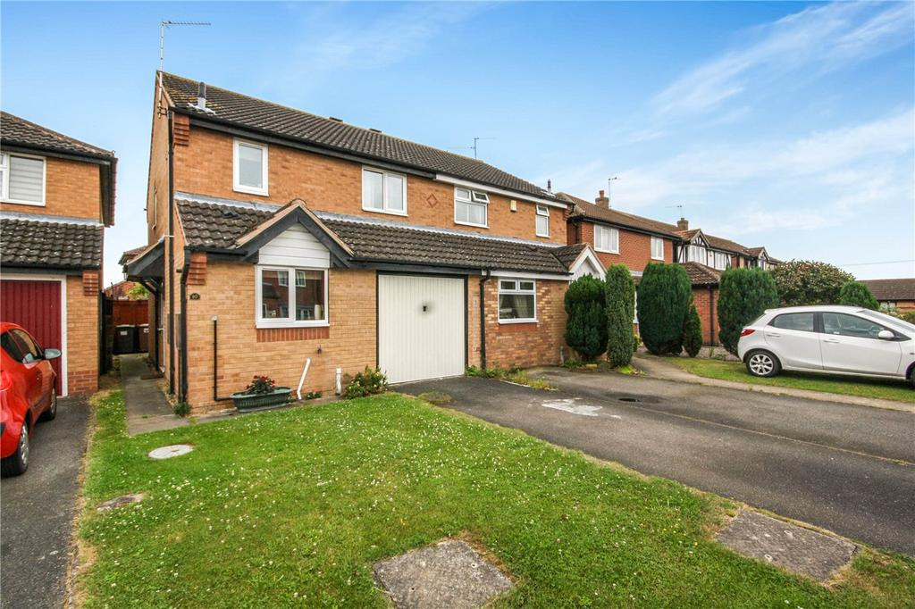 3 Bedrooms Semi Detached House for sale in Westbeck, Ruskington, Sleaford, Lincolnshire, NG34