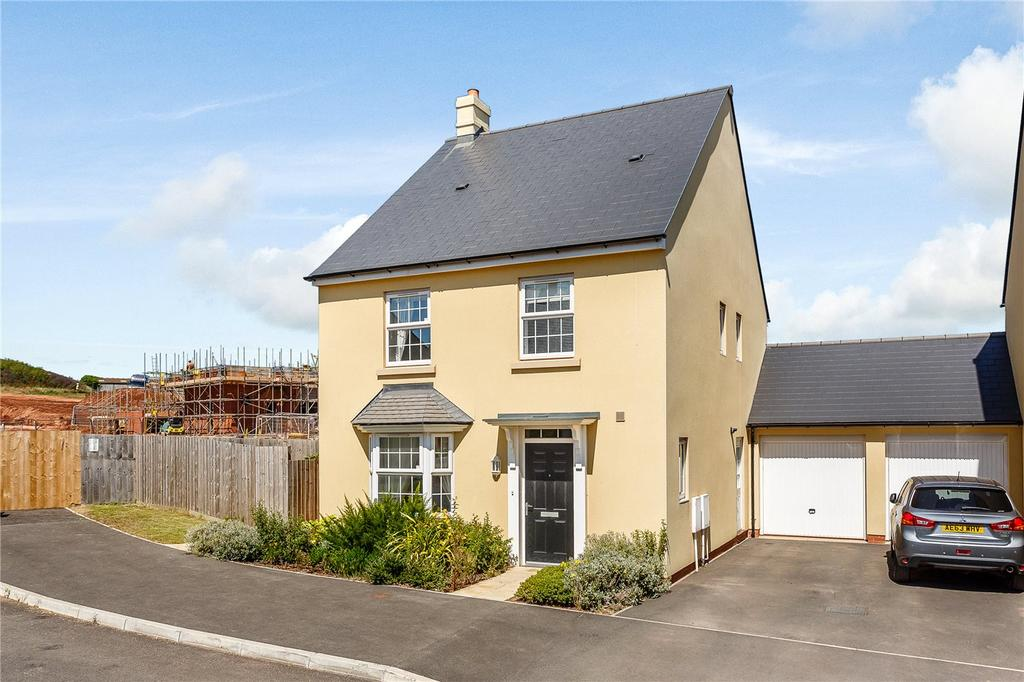 4 Bedrooms Detached House for sale in Hawkins Road, West Clyst, Exeter, EX1