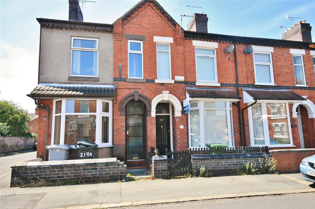 2 Bedrooms Terraced House for sale in Walthall Street, Crewe, Cheshire, CW2
