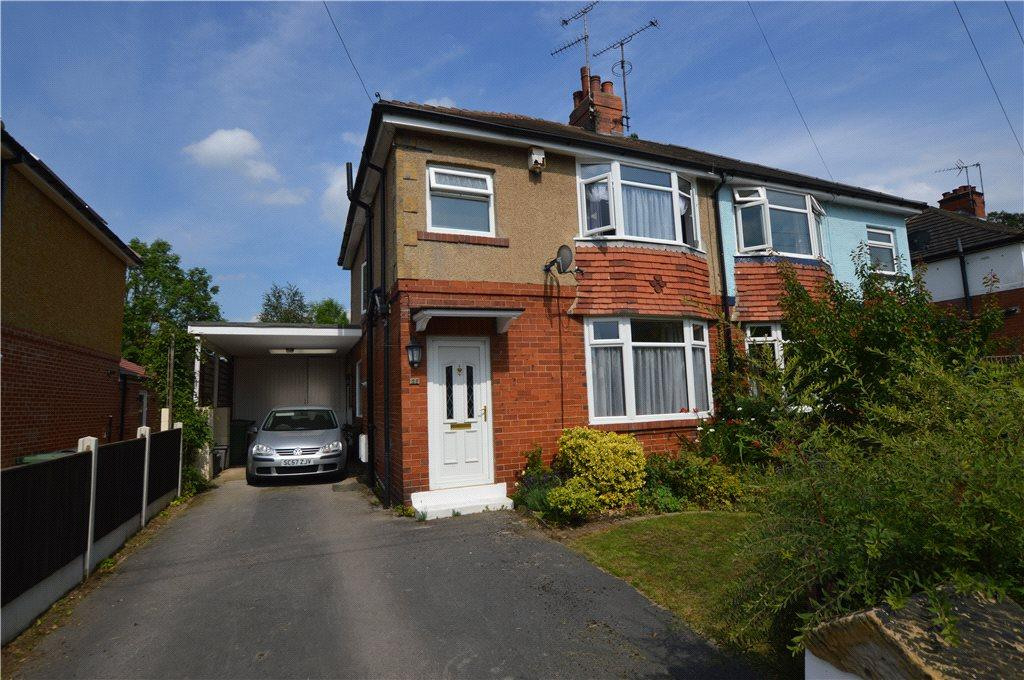 3 Bedrooms Semi Detached House for sale in Brookside, Collingham, Wetherby, West Yorkshire