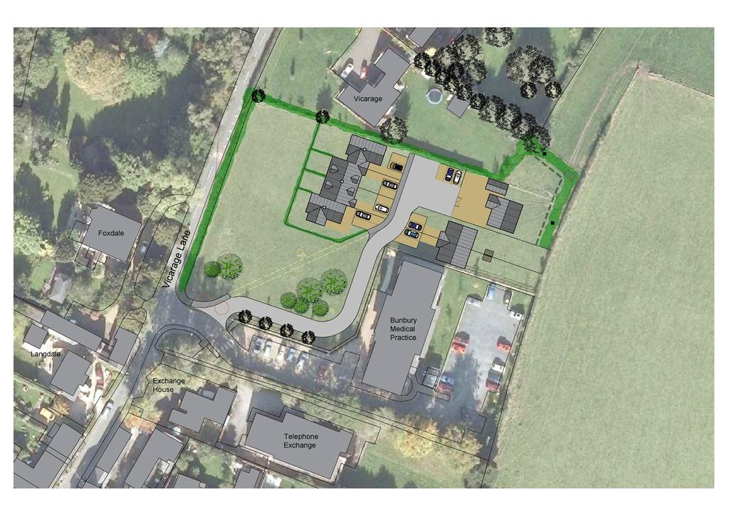 2 Bedrooms Plot Commercial for sale in Vicarage Lane, Bunbury, Tarporley, Cheshire