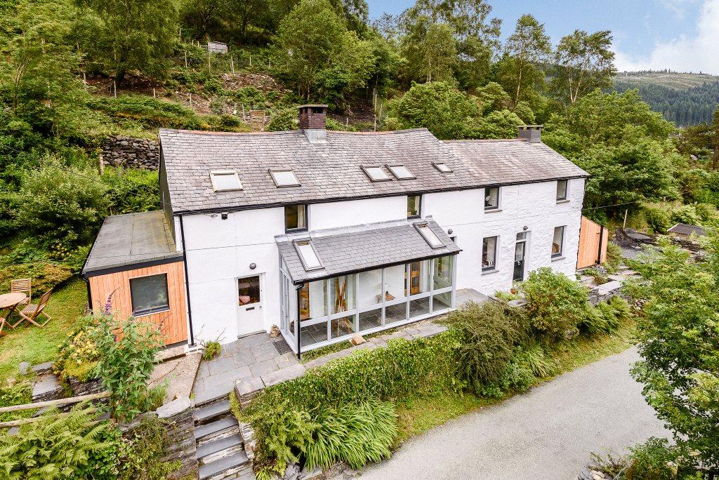 5 Bedrooms Detached House for sale in Penrhos Cottages, Corris, Machynlleth, Gwynedd
