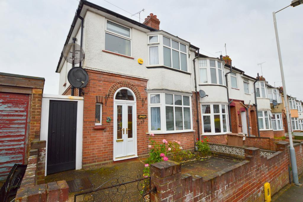 3 Bedrooms End Of Terrace House for sale in Strathmore Avenue, South Luton, Luton, LU1 3QR