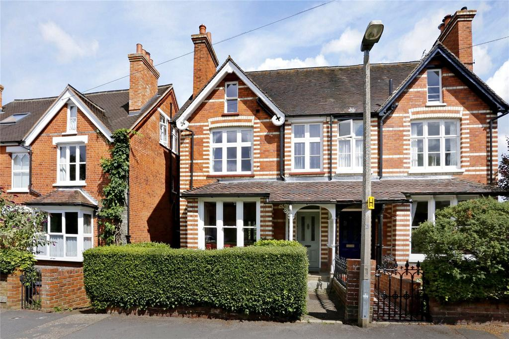 4 Bedrooms Semi Detached House for sale in Vicarage Road, Henley-on-Thames, Oxfordshire, RG9