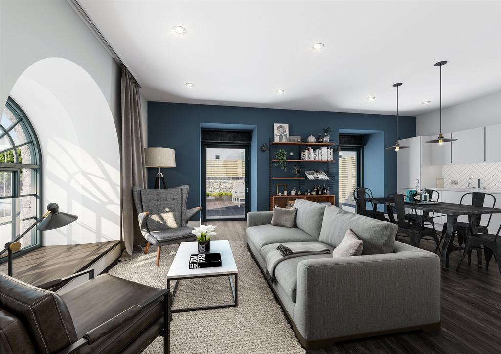 1 Bedroom Flat for sale in Apartment 10 Oculus House, Brandon Yard, Lime Kiln Road, Bristol, BS1
