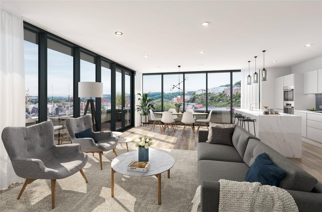 2 Bedrooms Flat for sale in Apartment 10 New Retort House, Brandon Yard, Lime Kiln Road, Bristol, BS1