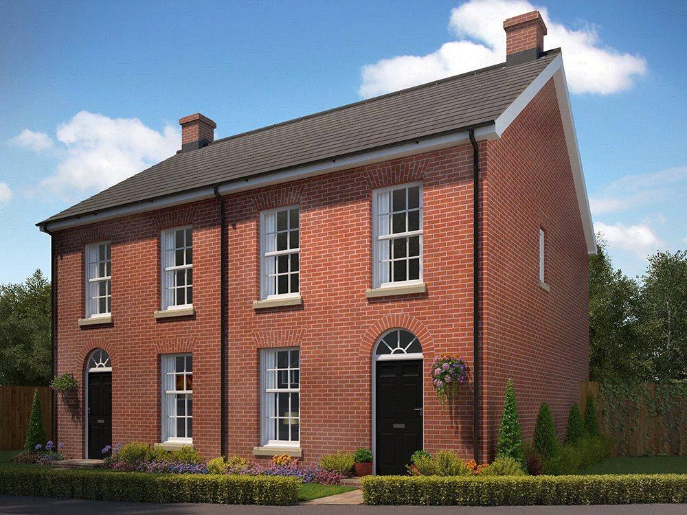 3 Bedrooms Semi Detached House for sale in Plot 17, St George's Park, George Lane, Loddon, Norwich, NR14