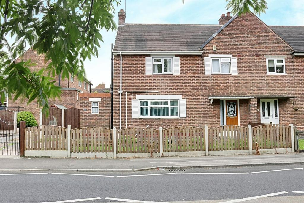 3 Bedrooms Semi Detached House for sale in Nabbs Lane, Hucknall
