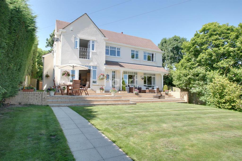 4 Bedrooms Detached House for sale in Pentrepoeth Rd, Bassaleg, Newport