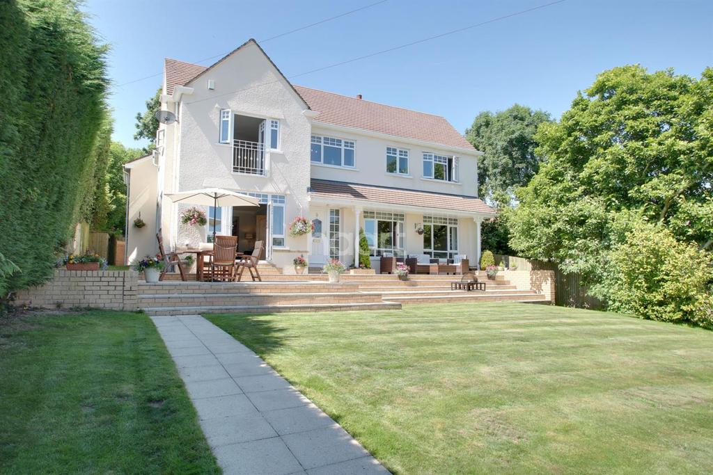 4 Bedrooms Detached House for sale in Pentrepoeth Road, Bassaleg, Newport