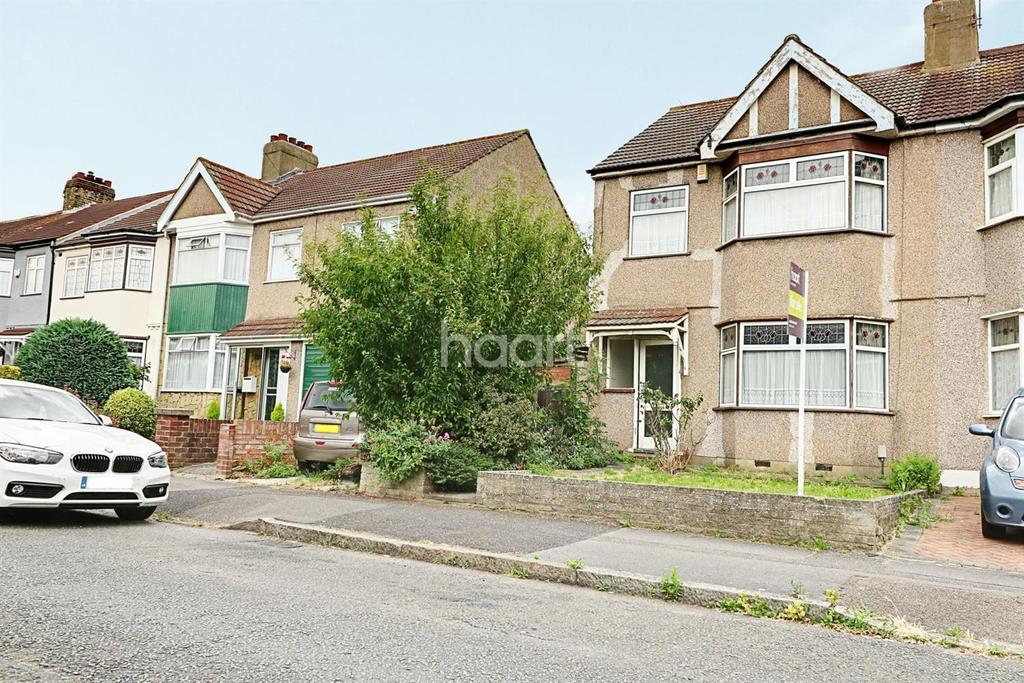 3 Bedrooms End Of Terrace House for sale in Purbeck Road, Hornchurch