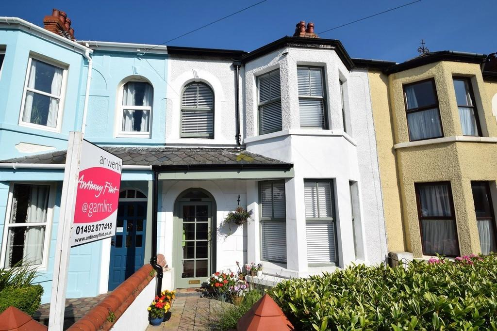 3 Bedrooms Terraced House for sale in Vardre View Terrace, Deganwy
