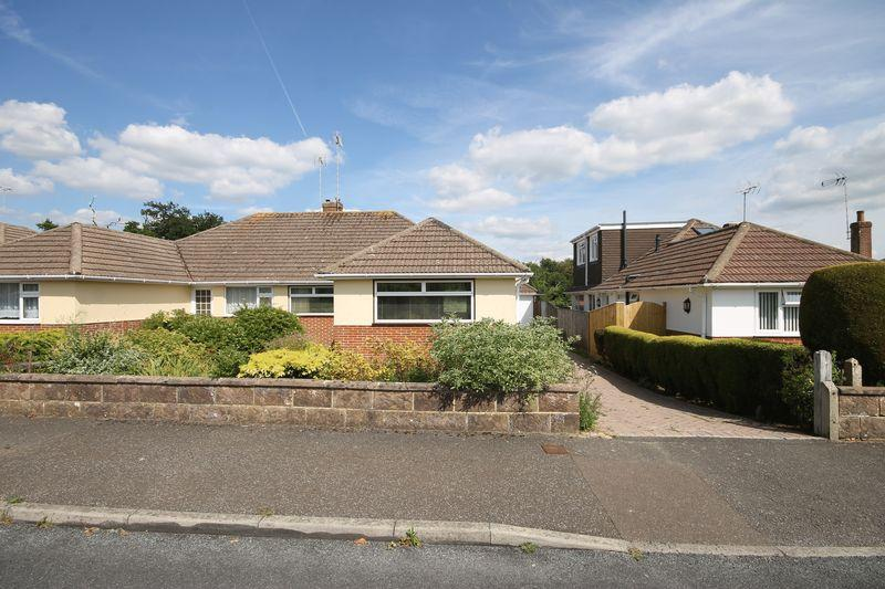 3 Bedrooms Semi Detached Bungalow for sale in Midfields Drive, Burgess Hill, West Sussex