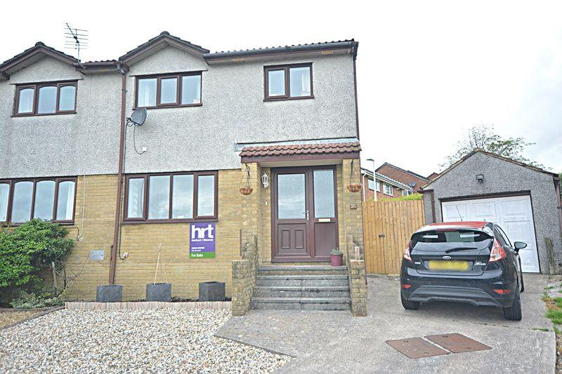 3 Bedrooms Semi Detached House for sale in Ashbrook, Brackla, Bridgend, CF31 2AT