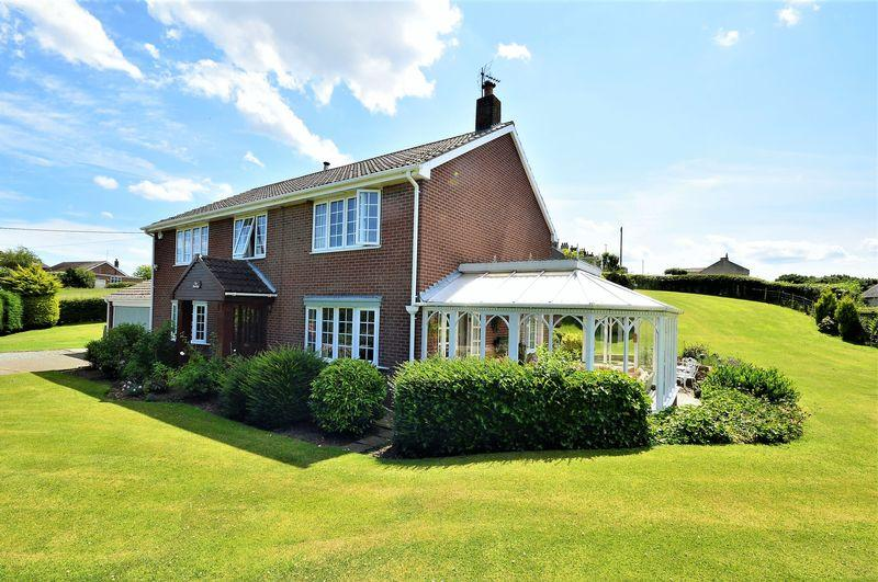 4 Bedrooms Detached House for sale in The Moorings, Guisborough Road, Moorsholm, TS12 3JA