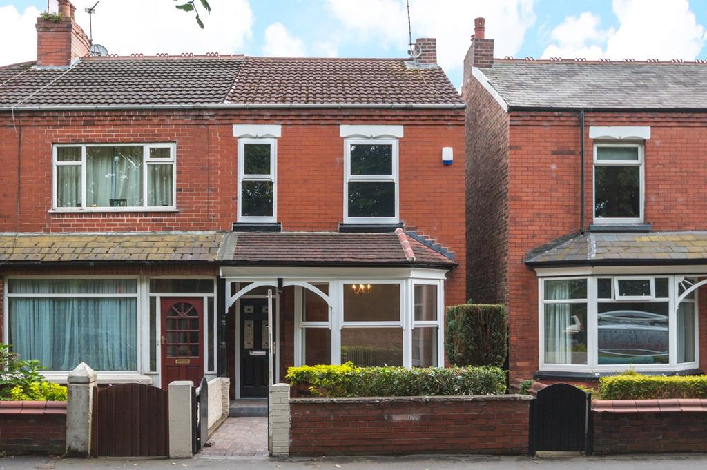 3 Bedrooms Semi Detached House for sale in Moorside Road, Urmston, Manchester, M41