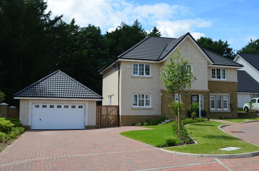 4 Bedrooms Detached House for sale in Braidgate , Strathblane , Stirlingshire , G63 9BF