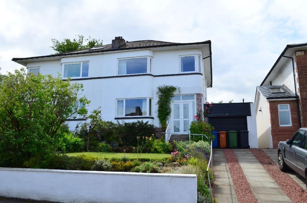 3 Bedrooms Semi Detached House for sale in Burnbrae Avenue, Bearsden , East Dunbartonshire , G61 3ER