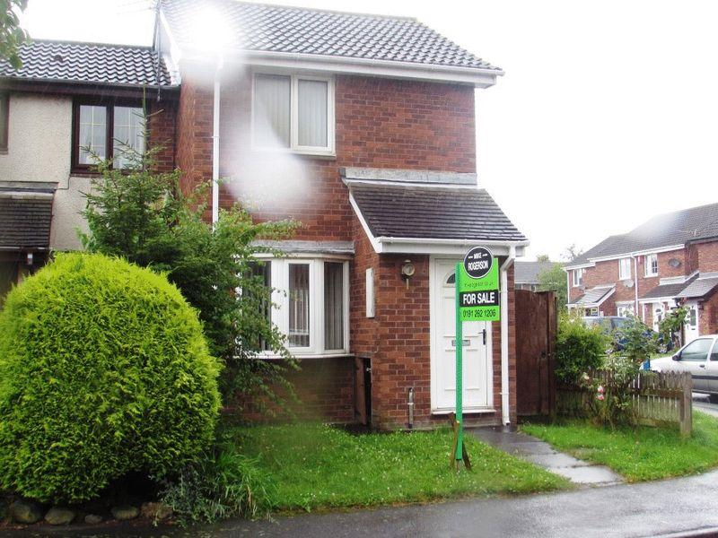 1 Bedroom End Of Terrace House for sale in Bishopdale, Wallsend - One Bedroom End Terrace House