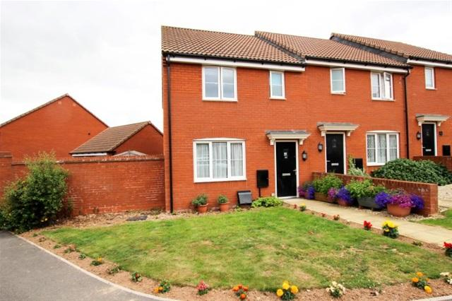 3 Bedrooms Terraced House for sale in Lilliana Way, Bridgwater