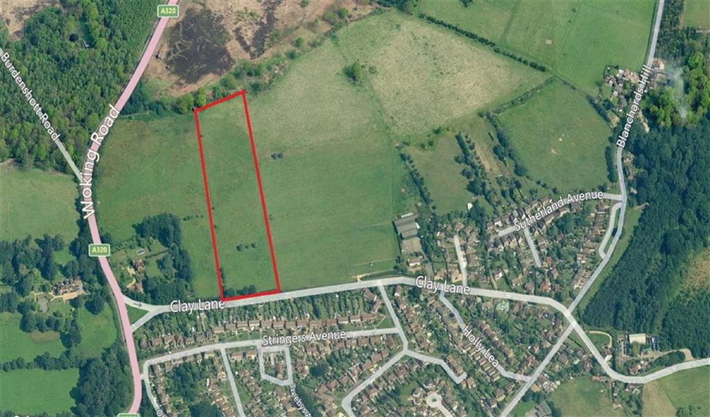 Land Commercial for sale in Clay Lane, Jacobs Well, Guildford, Surrey, GU4