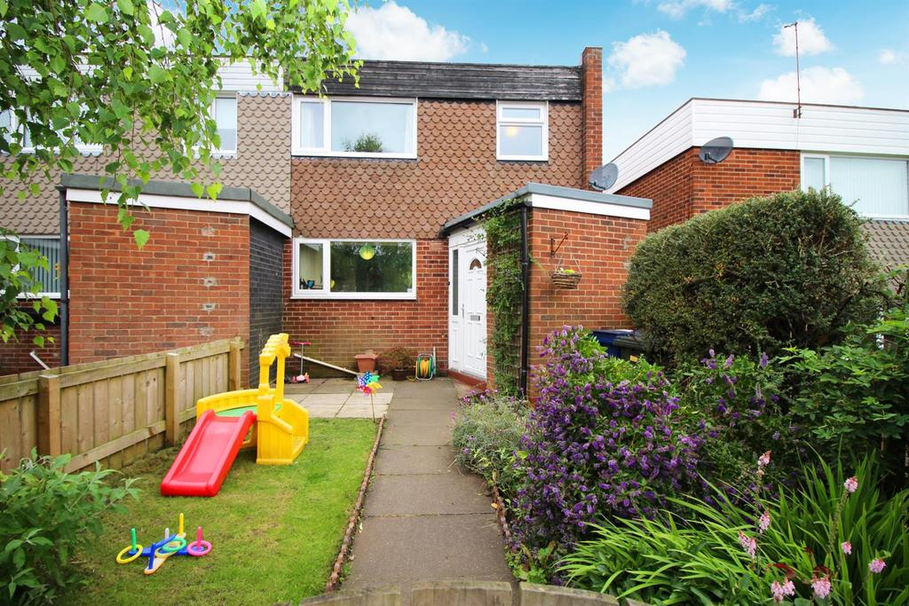 3 Bedrooms End Of Terrace House for sale in Rothley Close, Newcastle Upon Tyne