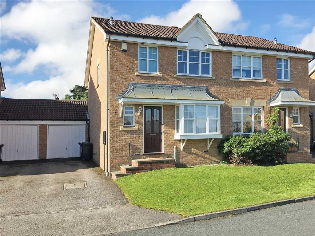 3 Bedrooms Semi Detached House for sale in Bluebell Meadow, Harrogate, North Yorkshire