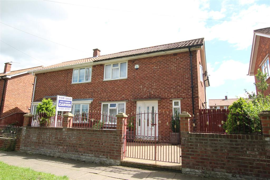 3 Bedrooms Semi Detached House for sale in Salters Lane South, Darlington