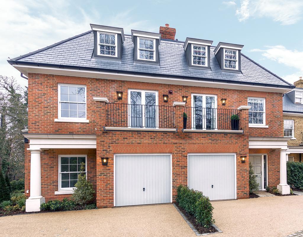4 Bedrooms Semi Detached House for sale in Number One Crown Villas, Virginia Water, Surrey.