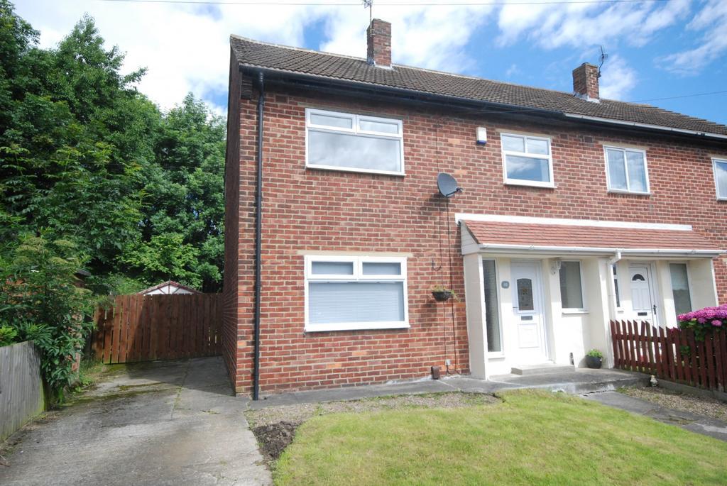 3 Bedrooms Semi Detached House for sale in Windermere Crescent, Hebburn