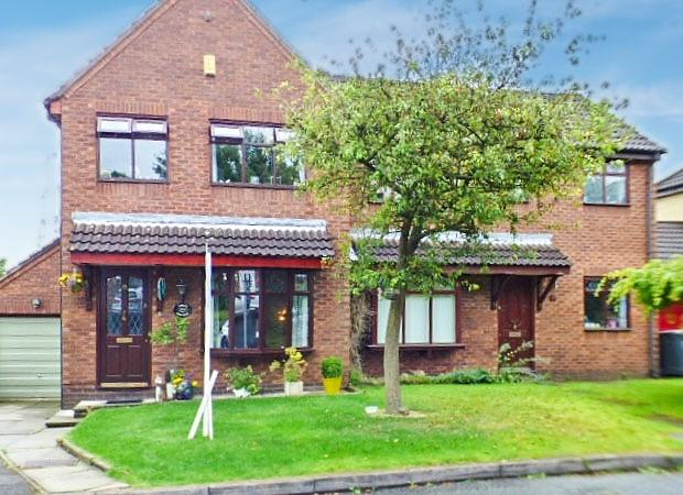 3 Bedrooms House for sale in Ashbury Close, Norton Brow, Runcorn