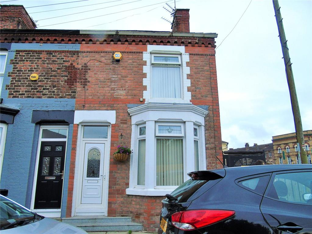 2 Bedrooms End Of Terrace House for sale in Owen Road, Kirkdale, Liverpool, L4