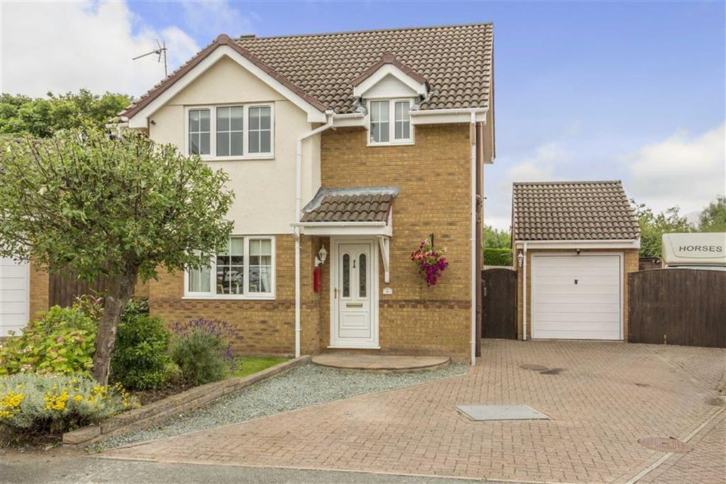 3 Bedrooms Detached House for sale in Threos Close, Connah's Quay, Deeside, Flintshire