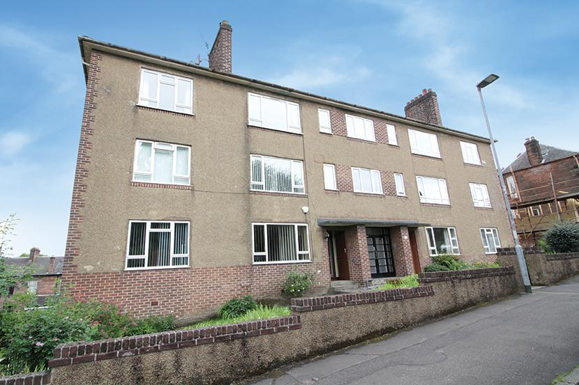 2 Bedrooms Ground Flat for sale in 93 Randolph Road, Broomhill, G11 7DT