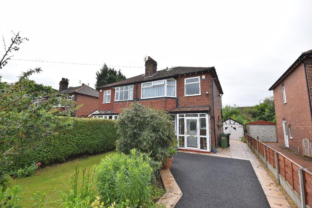3 Bedrooms Semi Detached House for sale in Vicarage Lane, Poynton