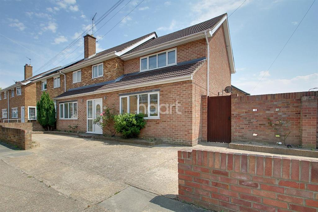 5 Bedrooms Semi Detached House for sale in Ridley Close, Heaton Grange