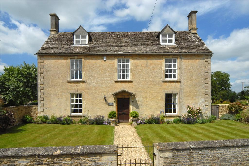 5 Bedrooms Detached House for sale in Filkins, Lechlade, Gloucestershire, GL7