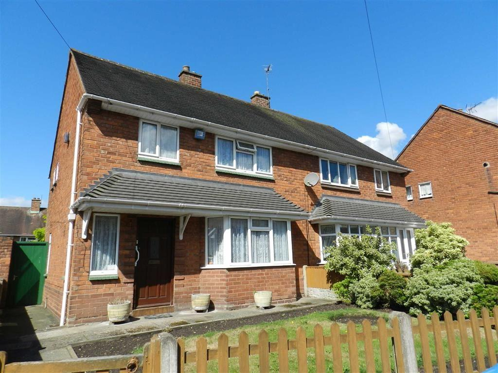 3 Bedrooms Semi Detached House for sale in Pershore Close, Bloxwich, Walsall