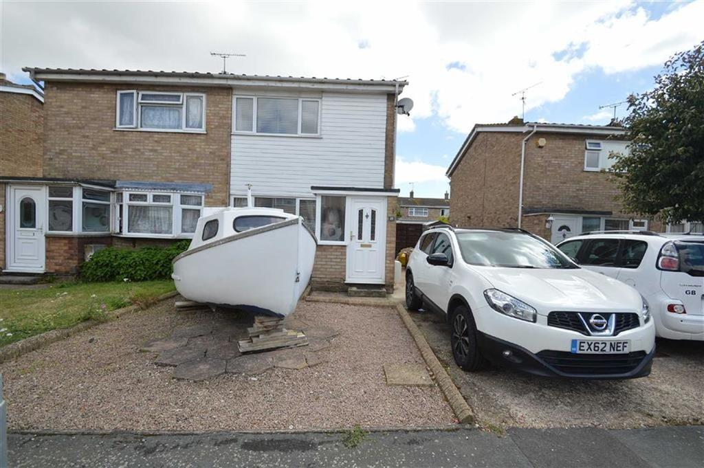 2 Bedrooms Terraced House for sale in Vermeer Crescent, Shoeburyness, Essex