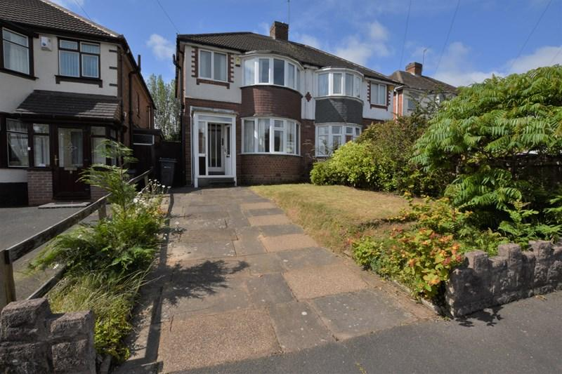 3 Bedrooms Semi Detached House for sale in Middle Meadow Avenue, Quinton, Birmingham