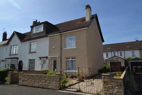 2 Bedrooms End Of Terrace House for sale in 458 Allison Street, Crosshill, Glasgow, G42 8TA