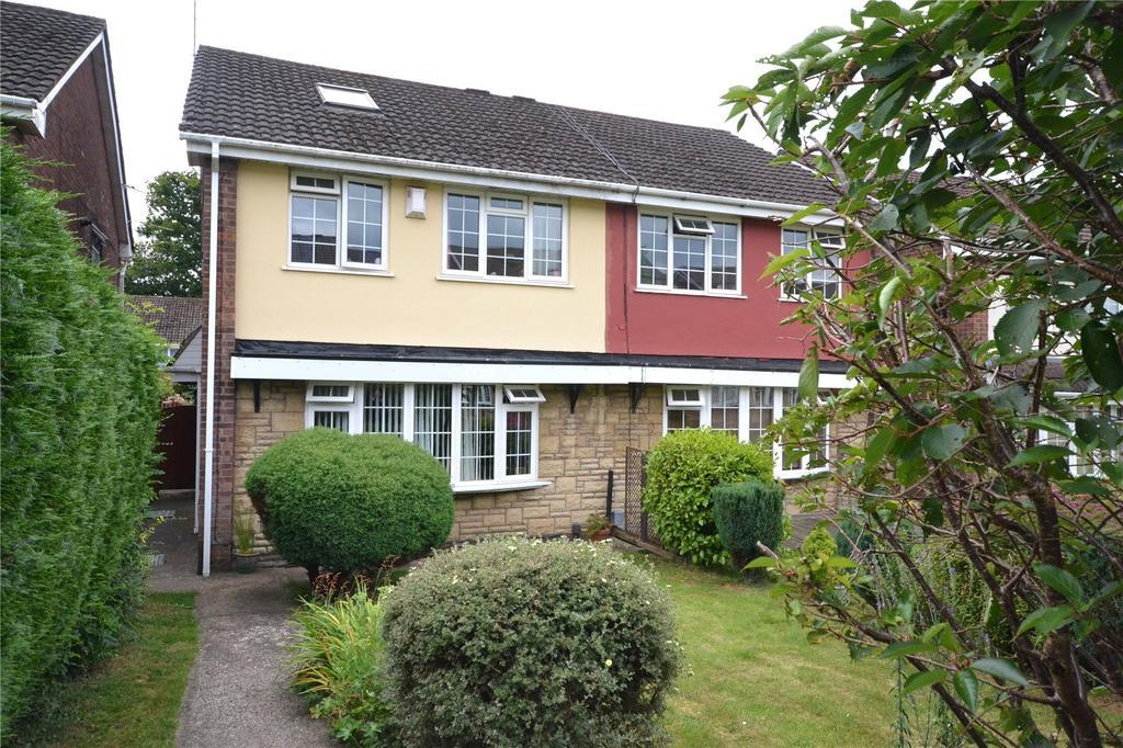 4 Bedrooms Semi Detached House for sale in Glyn Rhosyn, Pentwyn, Cardiff, CF23