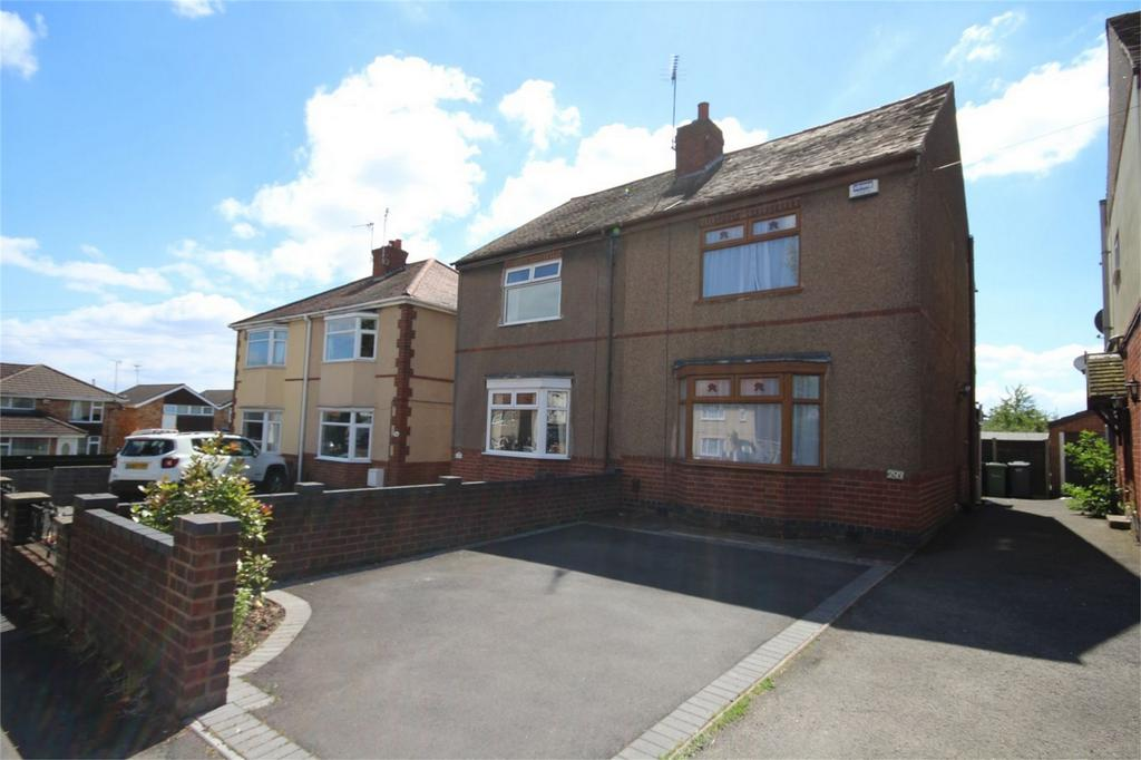 3 Bedrooms Semi Detached House for sale in Haunchwood Road, Stockingford, Nuneaton, Warwickshire