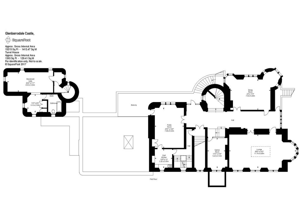 Glenborrodale castle glenborrodale acharacle highland for Scottish highland castle house plans