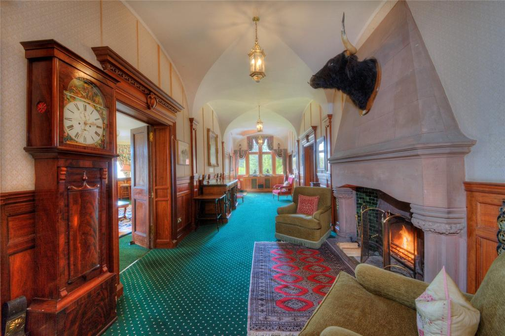 Spectacular Scottish Castles And Estates For Sale Country Life Enchanting Castle Interior Design Property