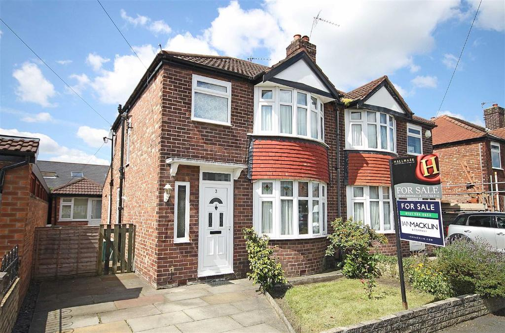 3 Bedrooms Semi Detached House for sale in Colebrook Road, Timperley, Cheshire